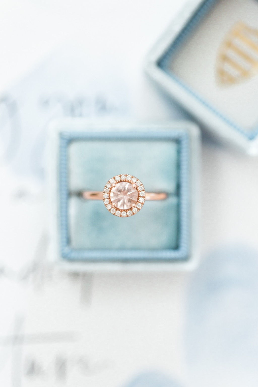Terri-Lynn Warren Photography takes the most beautiful photos! Look at this gorgeous capture of brides Allie and Sam's engagement ring