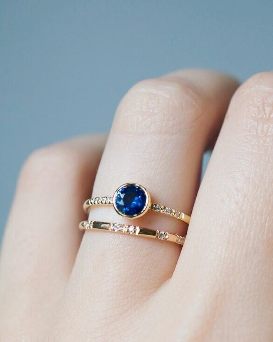 Is it Sunday afternoon already? It's been a grey weekend but boy do our Sapphires look pretty. 🔹🔷🔹