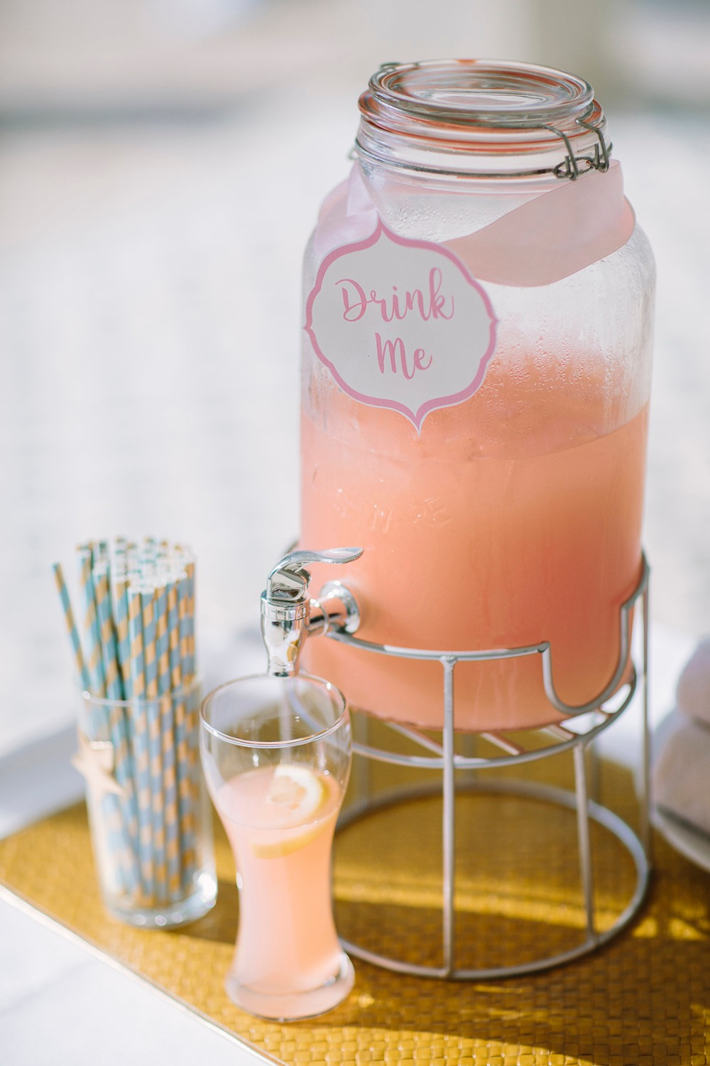 Wedding cocktail for guests