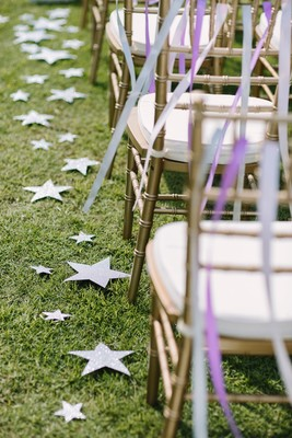 Celestial Double Sister Wedding Under the Stars