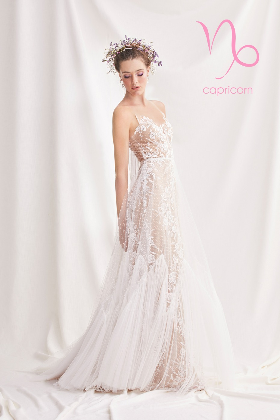 soft illusion dress for the Capricorn Zodiac