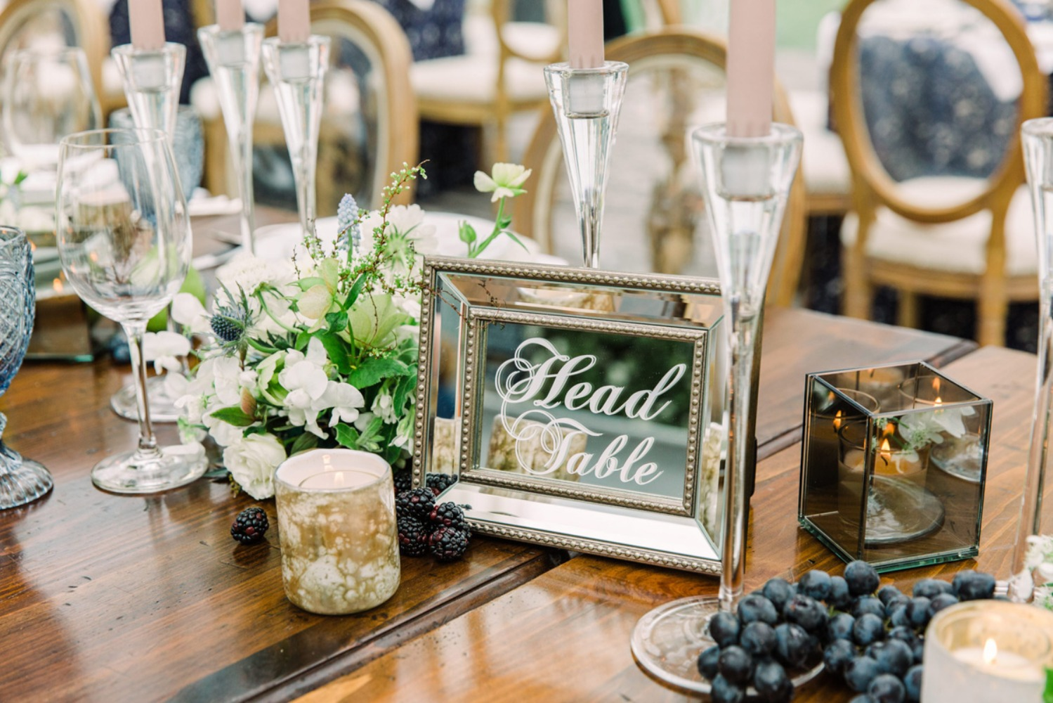 Head table sign idea