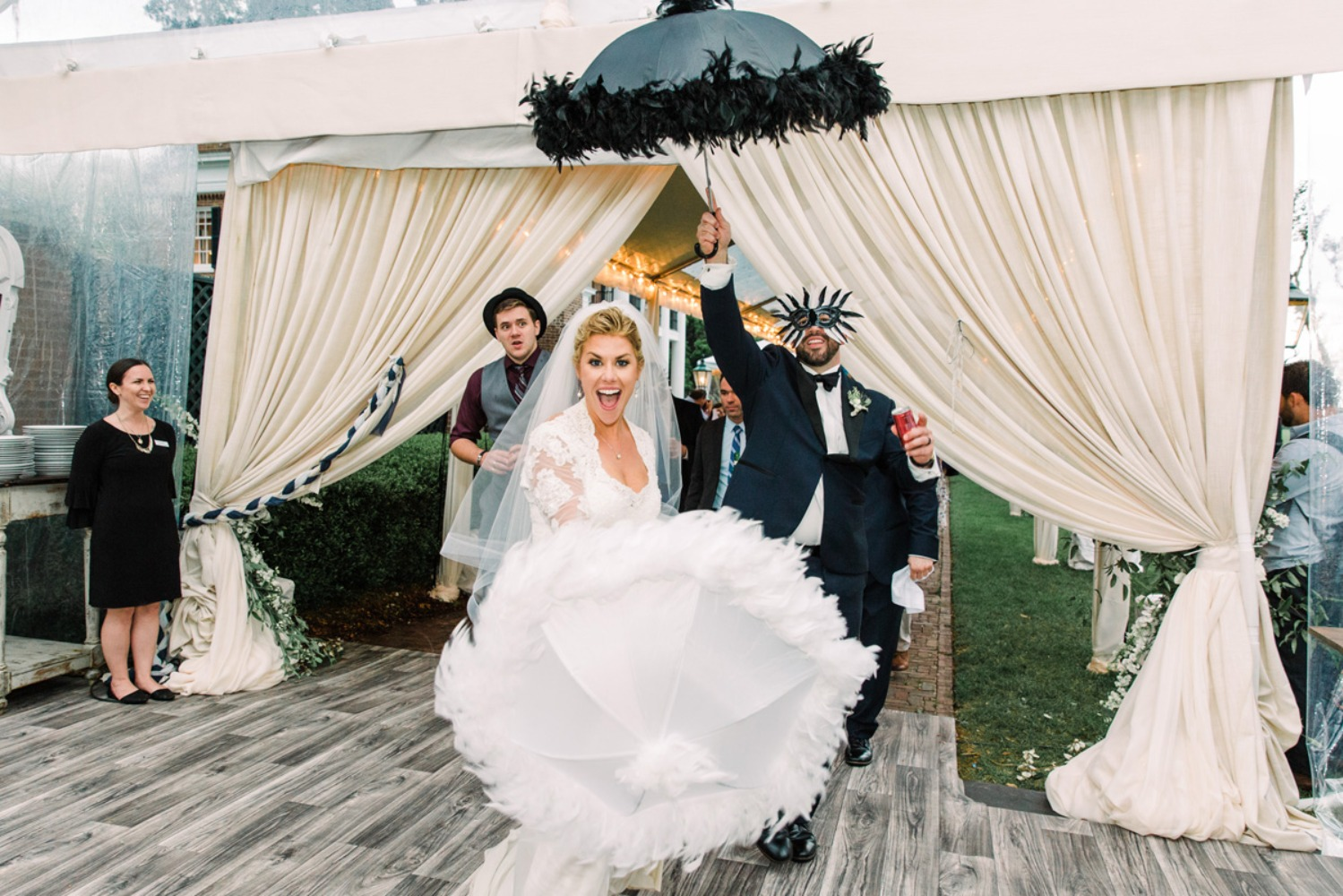 Second line march wedding