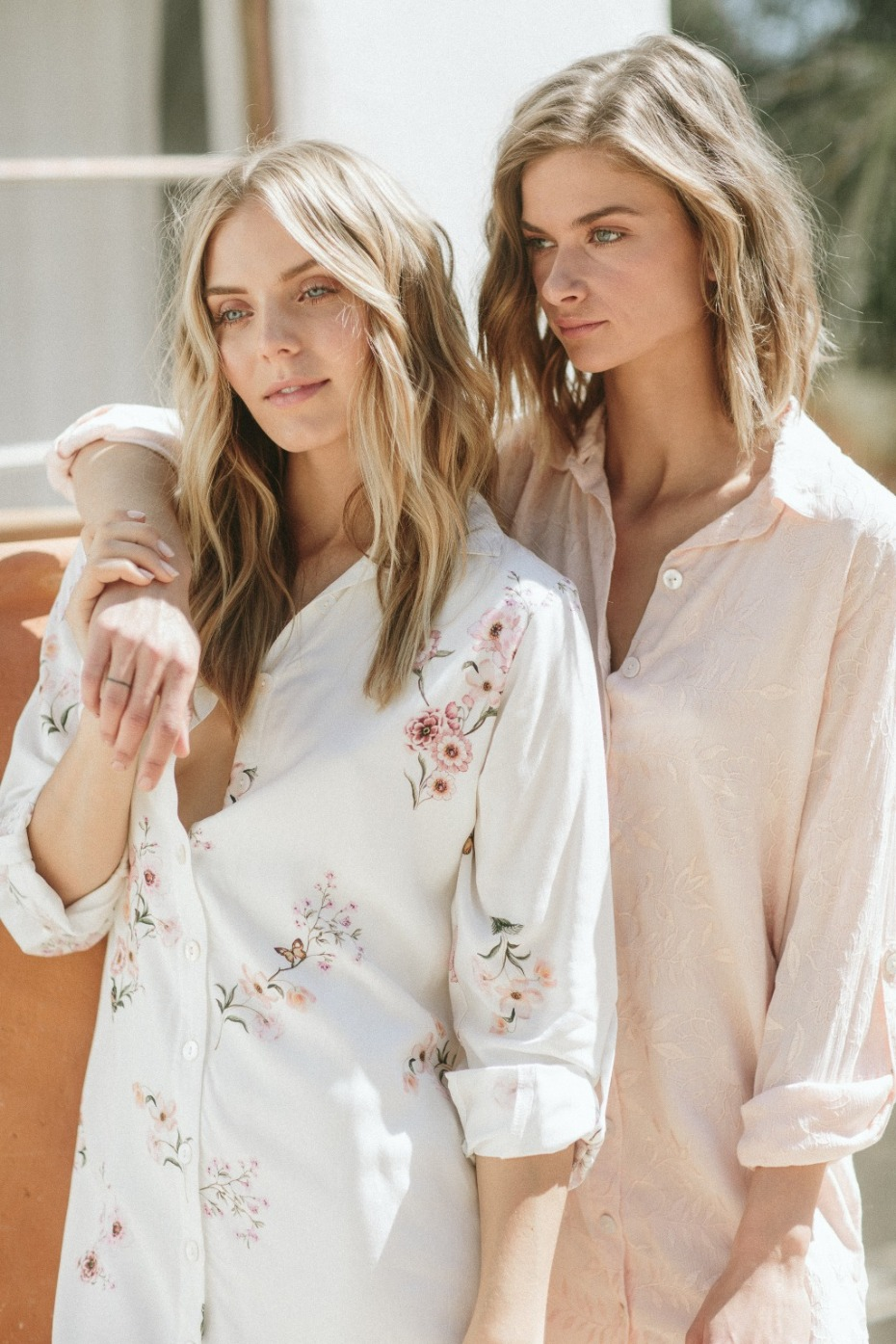 Get Ready in Boyfriend Shirts from Plum Pretty Sugar