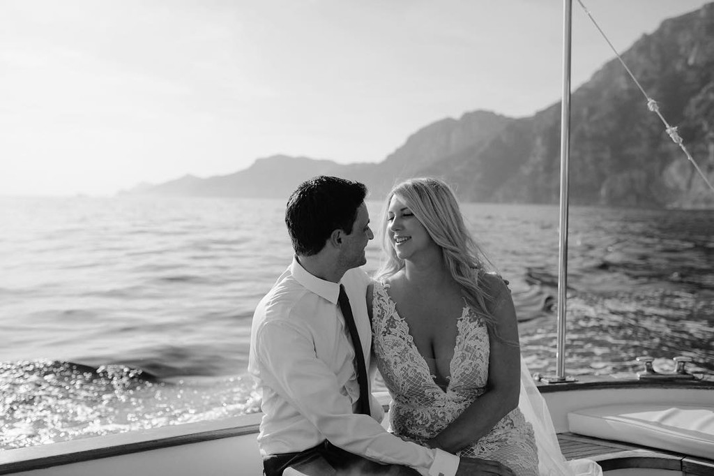 Yesterday in Amalfi Coast for the beautiful elopement of Kelly and Justin.