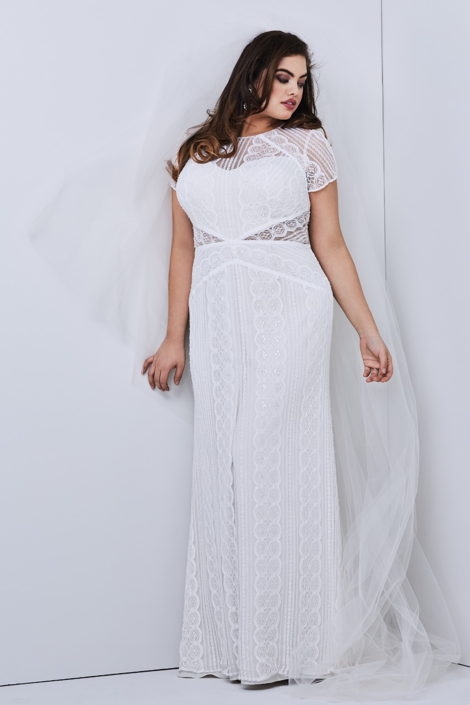Wtoo by Watters Lenora Plus Size Gown