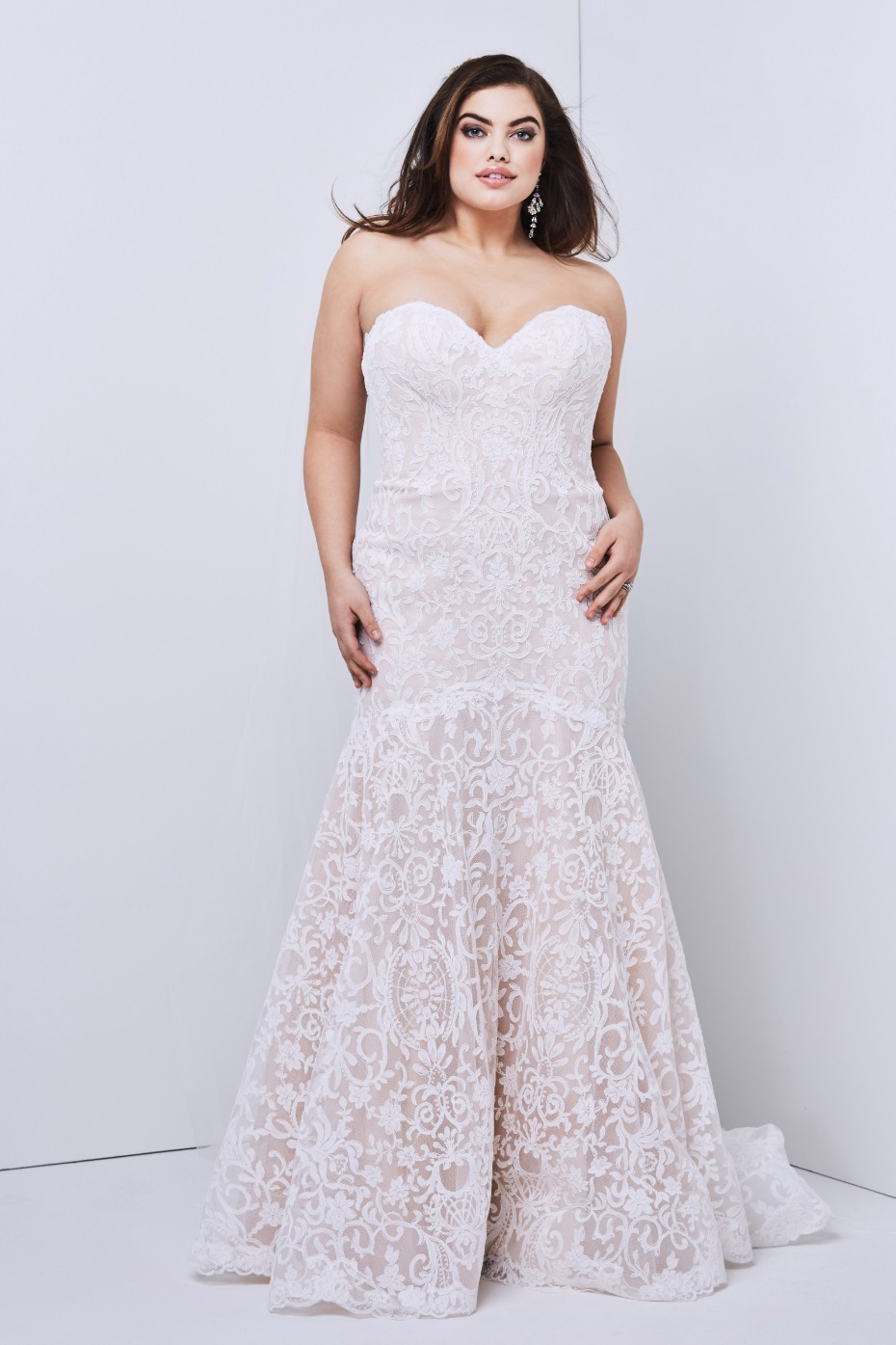 Watters Medici Gown Plus Size