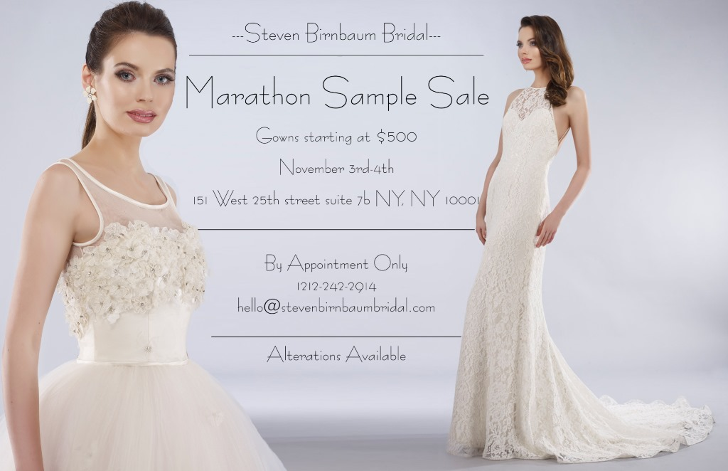 Marathon Sample Sale