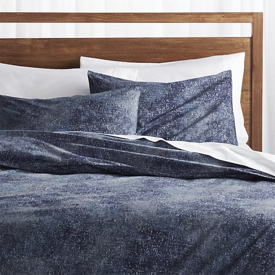 crate-and-barrel-ostin-blue-duvet-covers-and-pillo