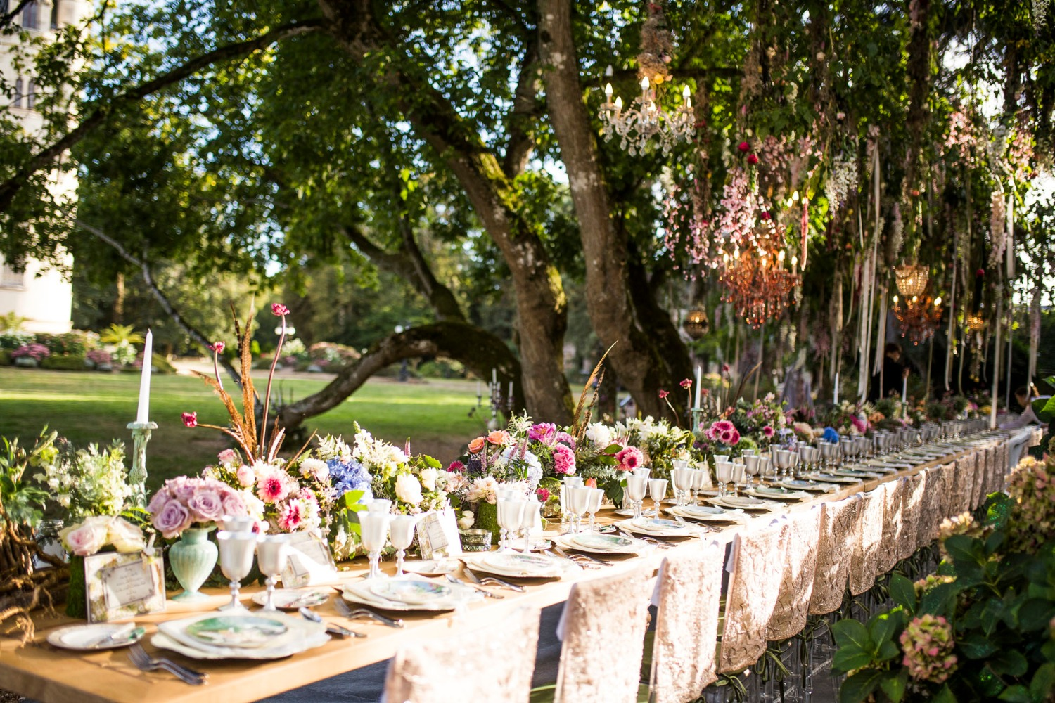 Midsummers Night's Dream wedding table