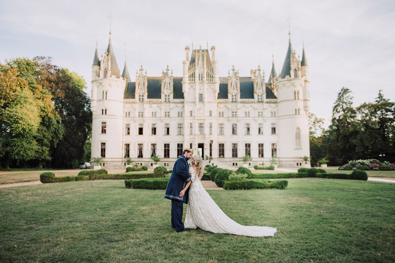 Dreamy castle wedding