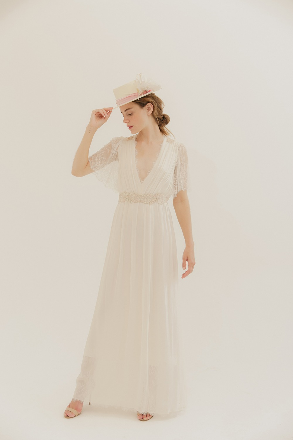 vintage wedding dress by by L. Wells