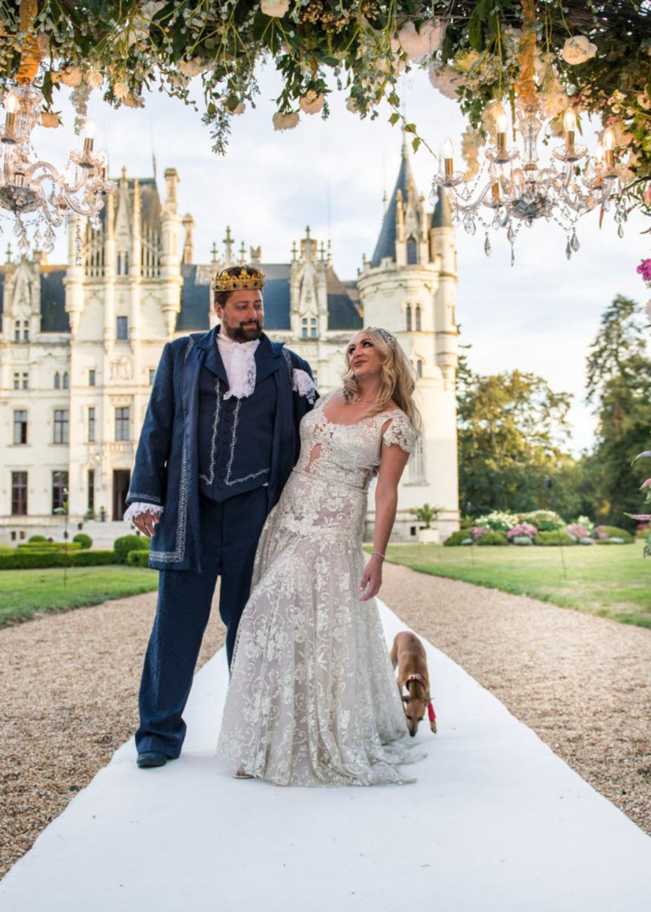 Midsummer Night's Dream Castle Wedding