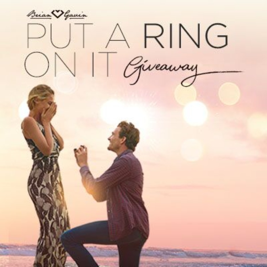 Brian Gavin Diamonds Put a Ring On It Giveaway Publicity Asset