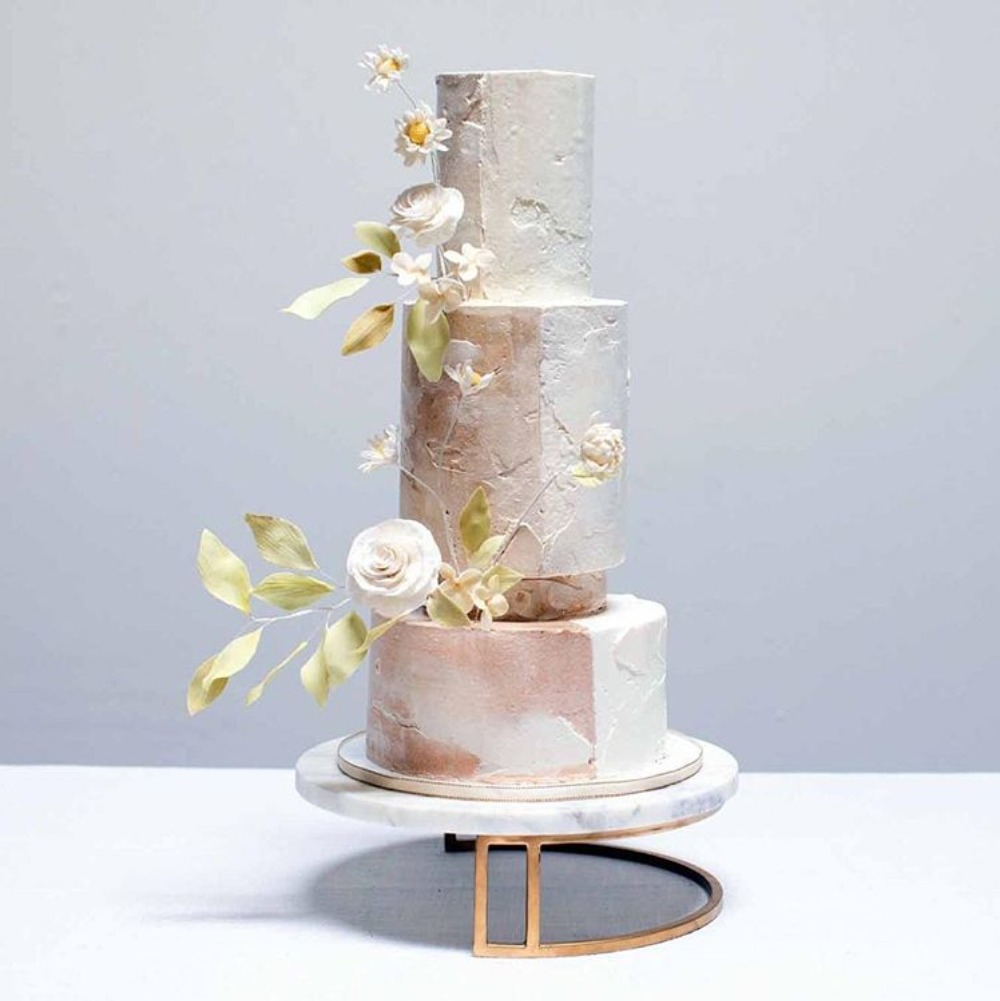 half tone wedding cake by Peggy liao Cake