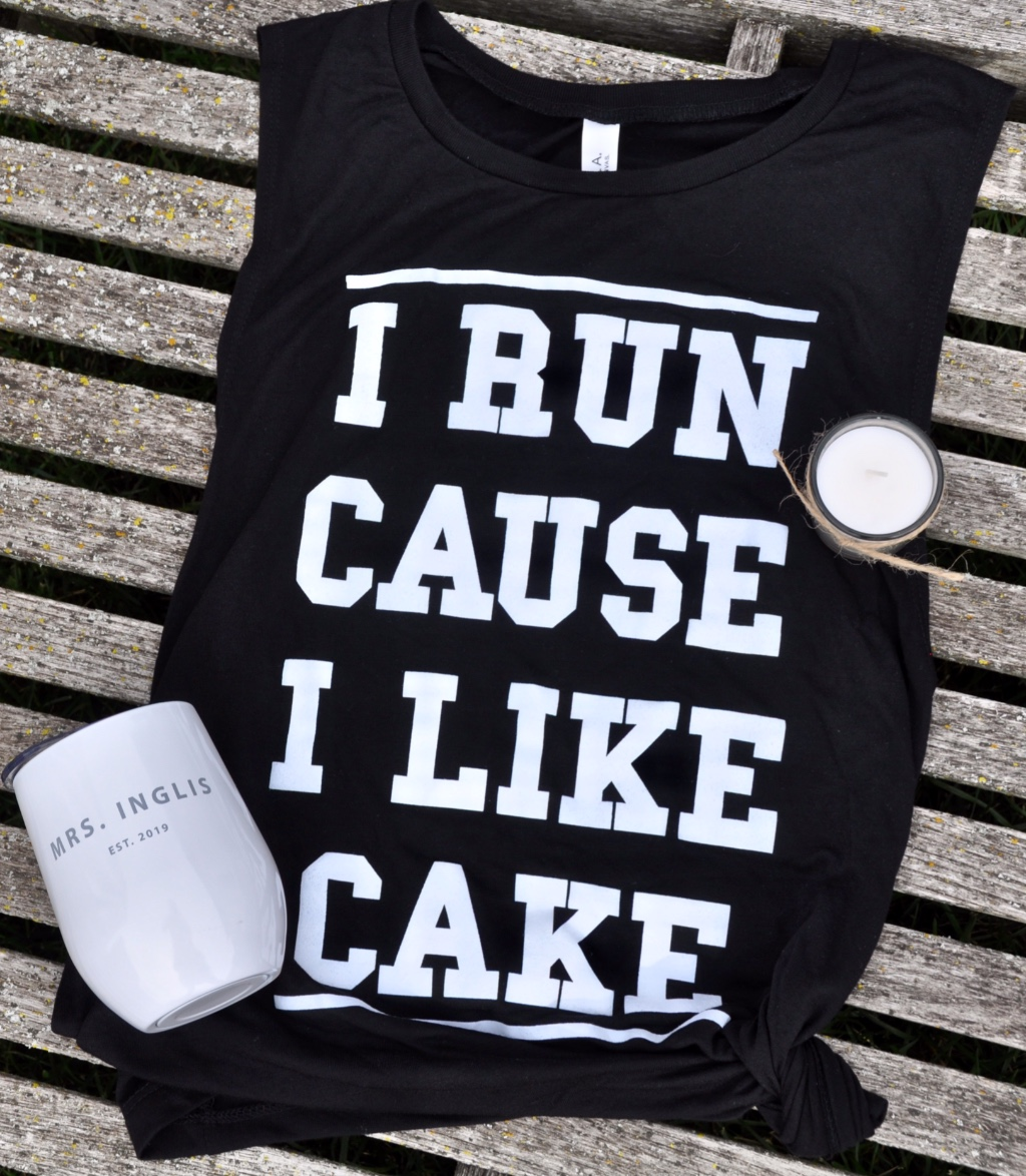 This should say CANDY for today! But still perfect (especially because I like cake too)! Browse www.inktandco.com for more!