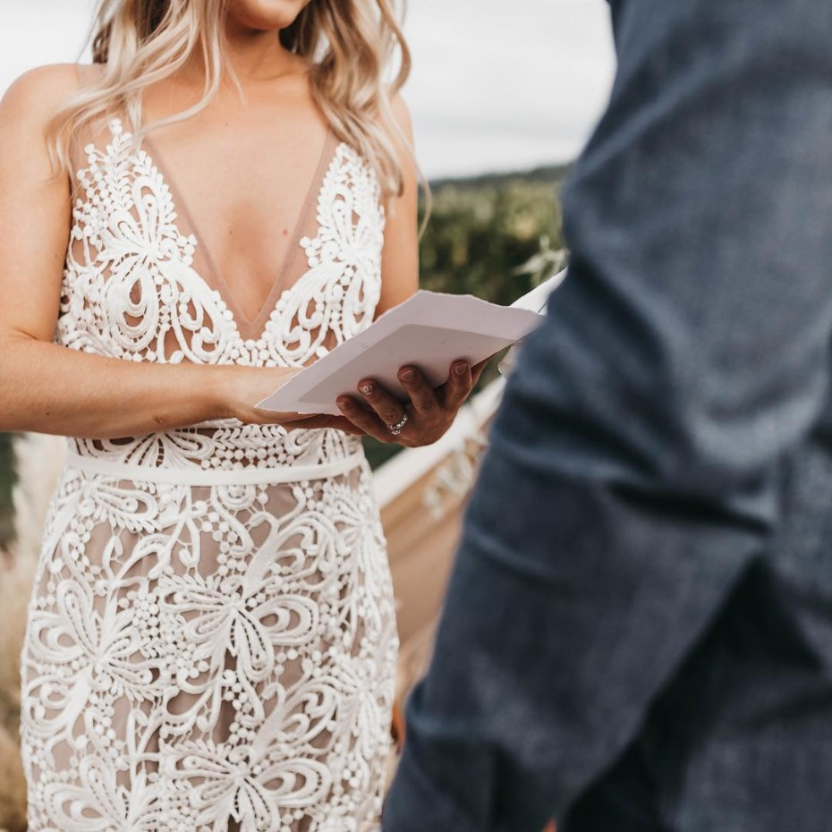 What To Wear If You're Renewing Your Vows