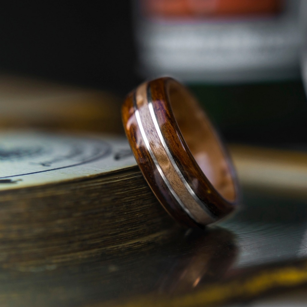 Just another spectacular Mens Bentwood Wedding Ring. These wood rings are extremely durable, custom made, and comfortable.