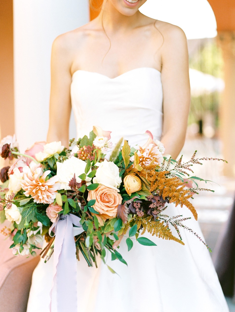 wedding bouquet by Root + Bloom Floral Design
