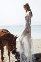 Costarellos Bridal Spring 2016 Collection