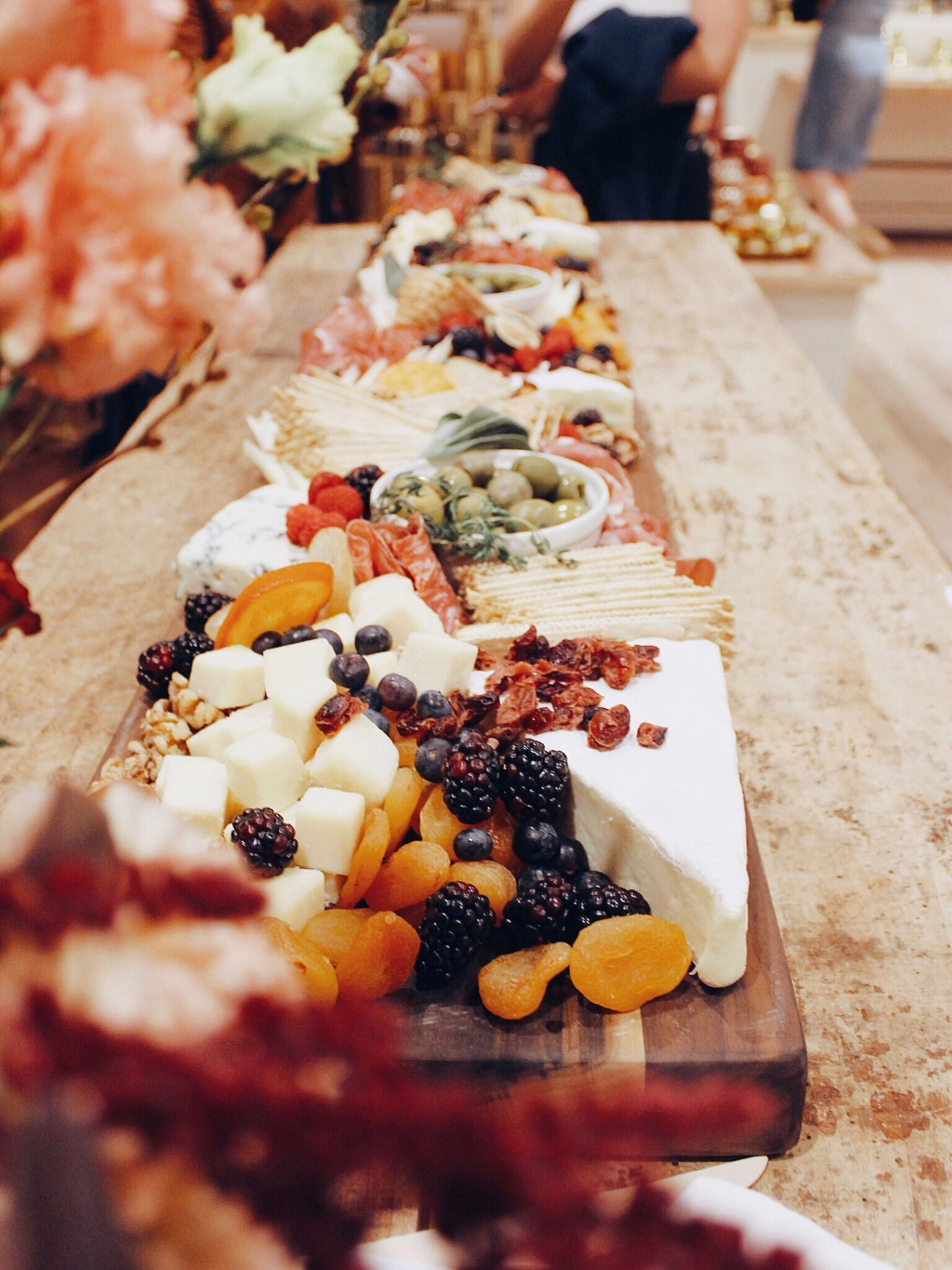 Want to make your cocktail hour or wedding tables stand out? We provide a wide variety of Cheese Tables, Grazing Tables, Cheese Board