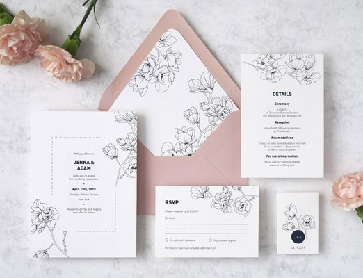 Pink Blue Paperie