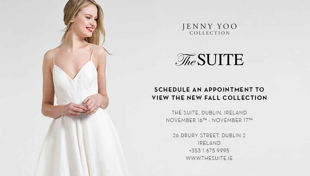 JENNY YOO COLLECTION TRUNK SHOW AT THE SUITE