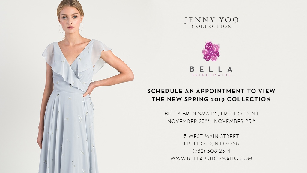 JENNY YOO COLLECTION TRUNK SHOW AT BELLA BRIDESMAIDS FREEHOLD