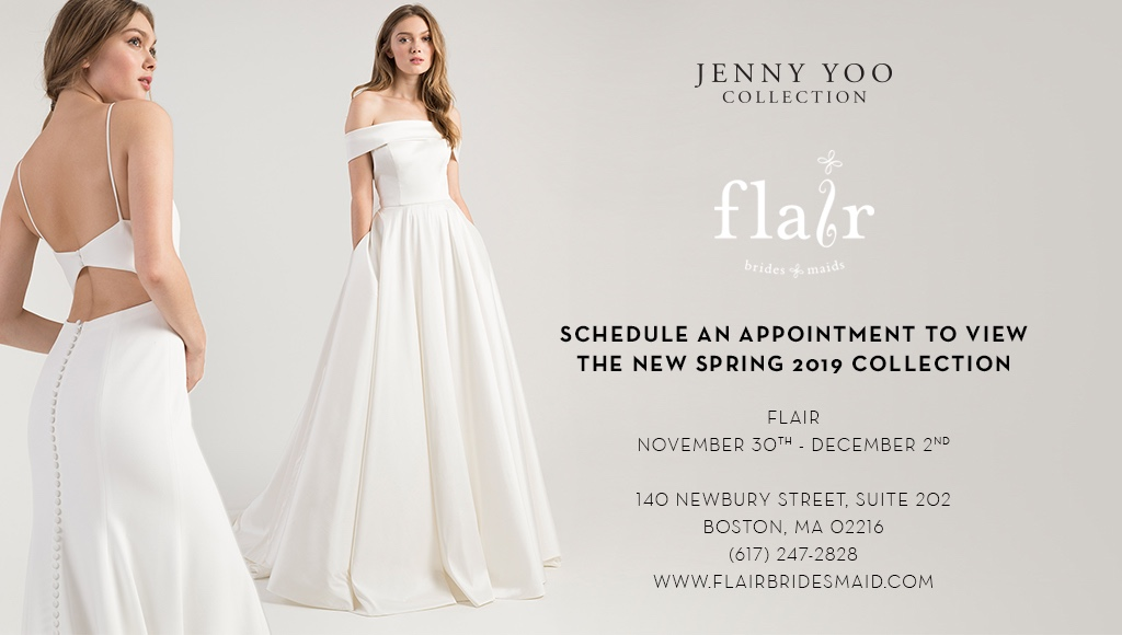 JENNY YOO COLLECTION TRUNK SHOW AT FLAIR