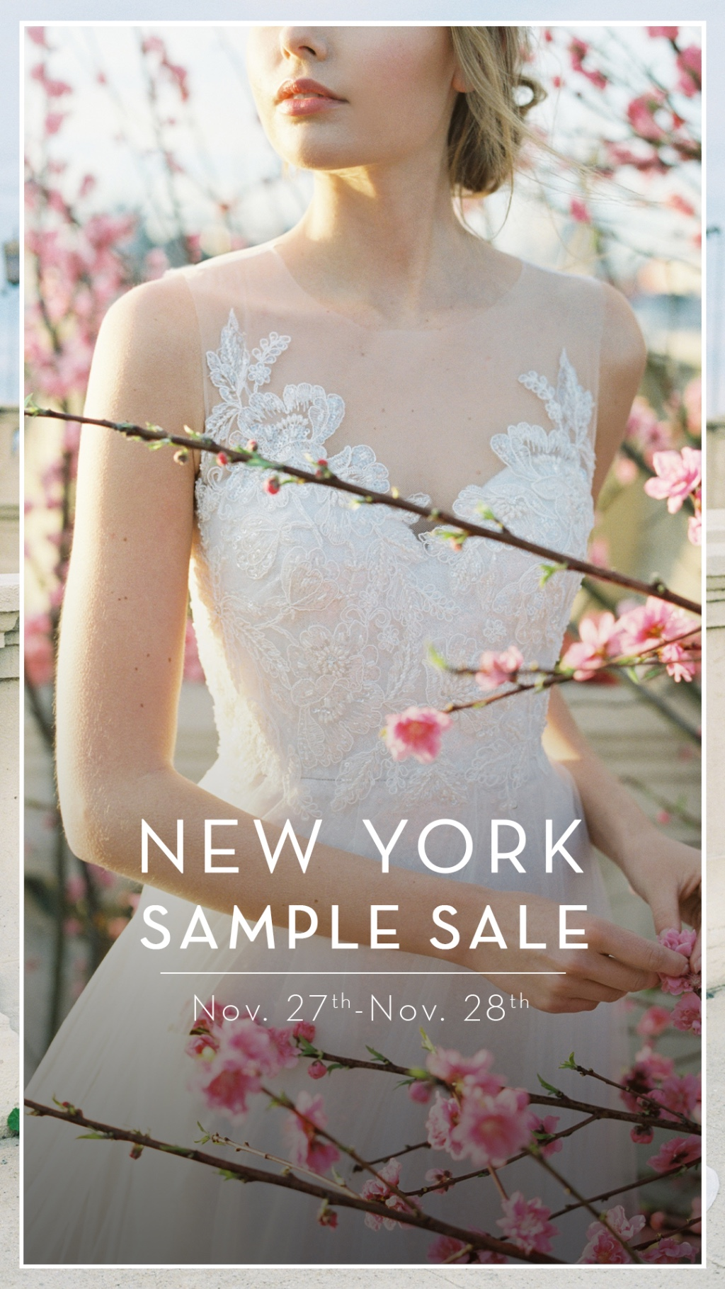 JENNY YOO COLLECTION NEW YORK SAMPLE SALE