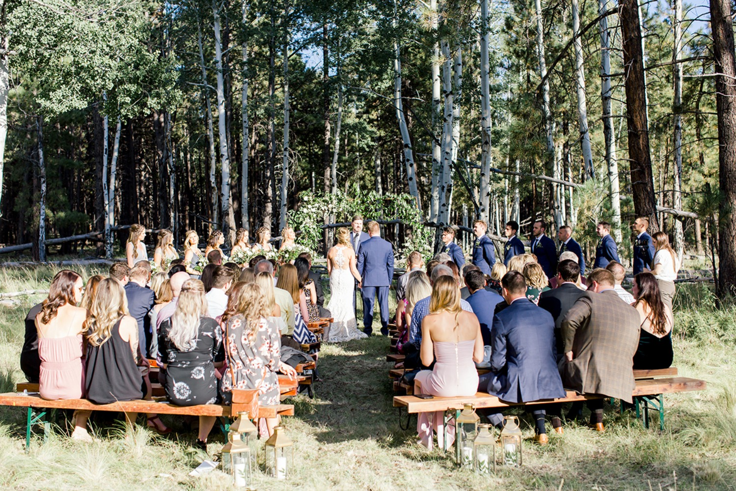 Chic outdoor wedding in Arizona