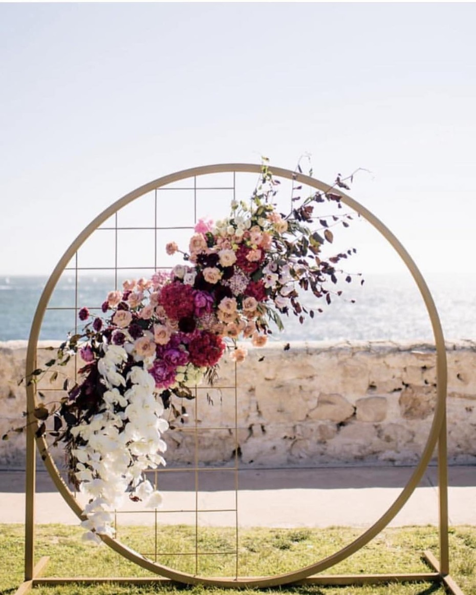 Dreamcatcher beach front ceremony inspiration - @lamoredesign