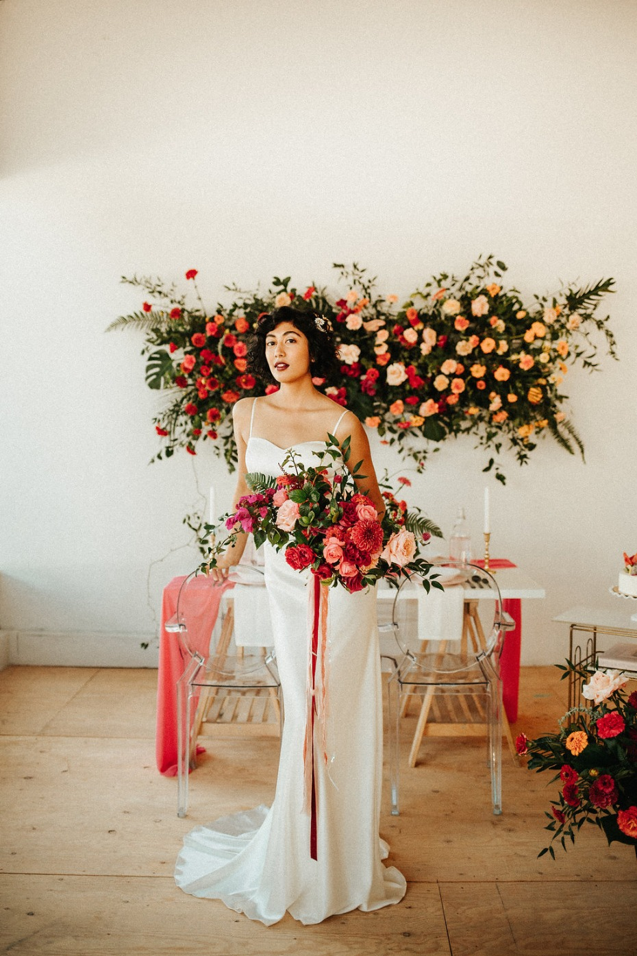 Modern and colorful wedding ideas