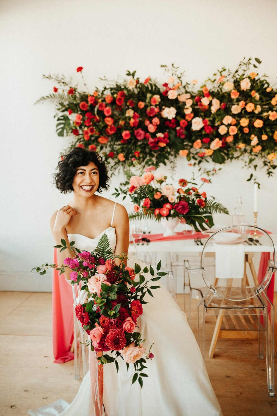 Bold and colorful wedding inspiration