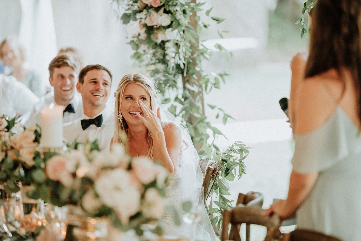 tearful wedding toasts