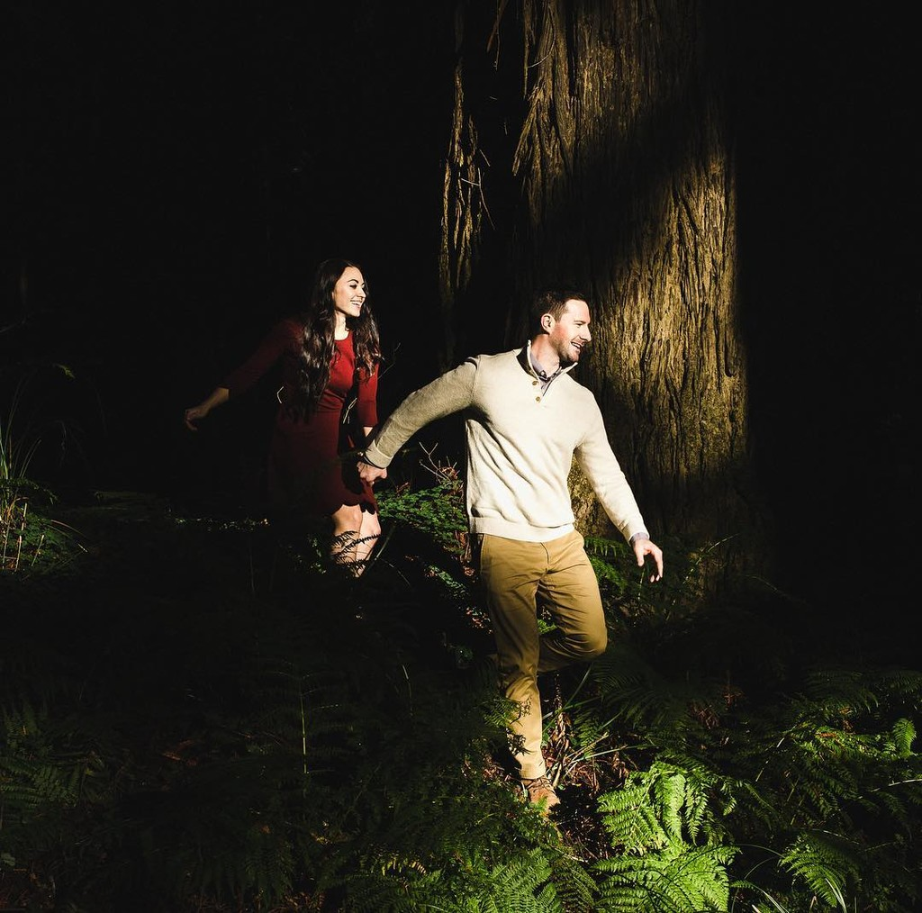 Deep forest adventures with these two lovely people.