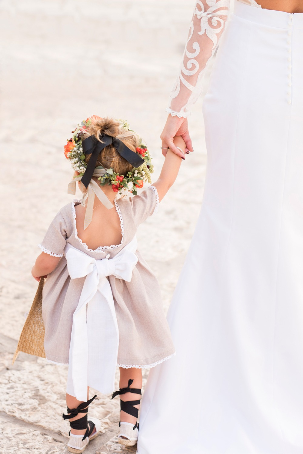 sweet little flower girl