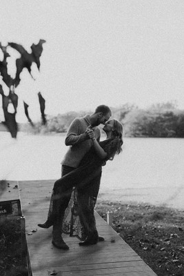 Let's Go Fishing Engagement Shoot
