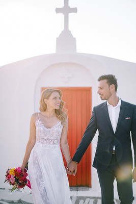 Let's Get Married In The Greek Isles