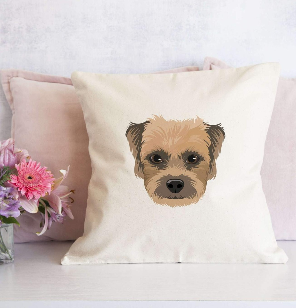 We're calling all pet lovers out there because this Personalized Pet Portrait Pillow Sham is just too CUTE!!