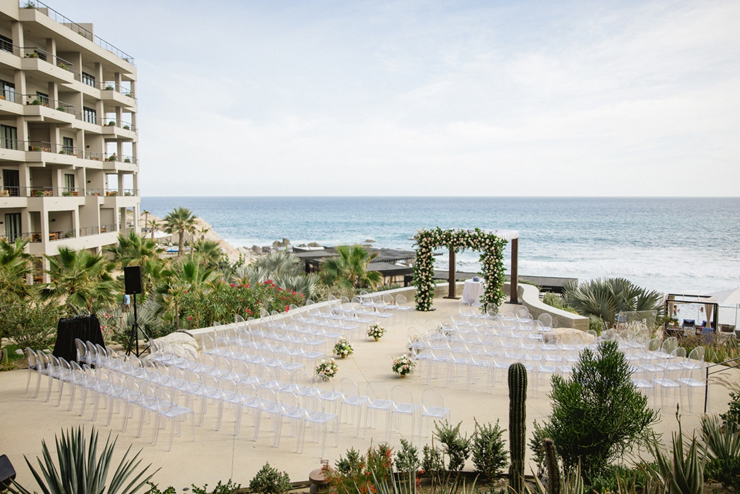 wedding ceremony in Cabo