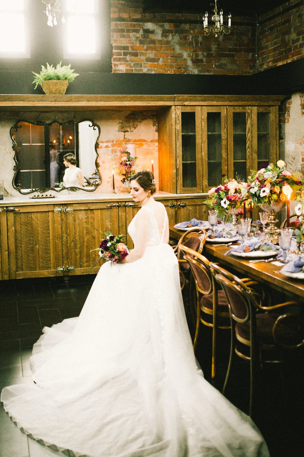 rustic moody wedding inspiration
