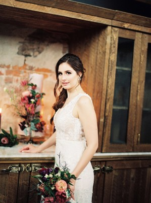 Rustic Autumn Hued Wedding Inspiration