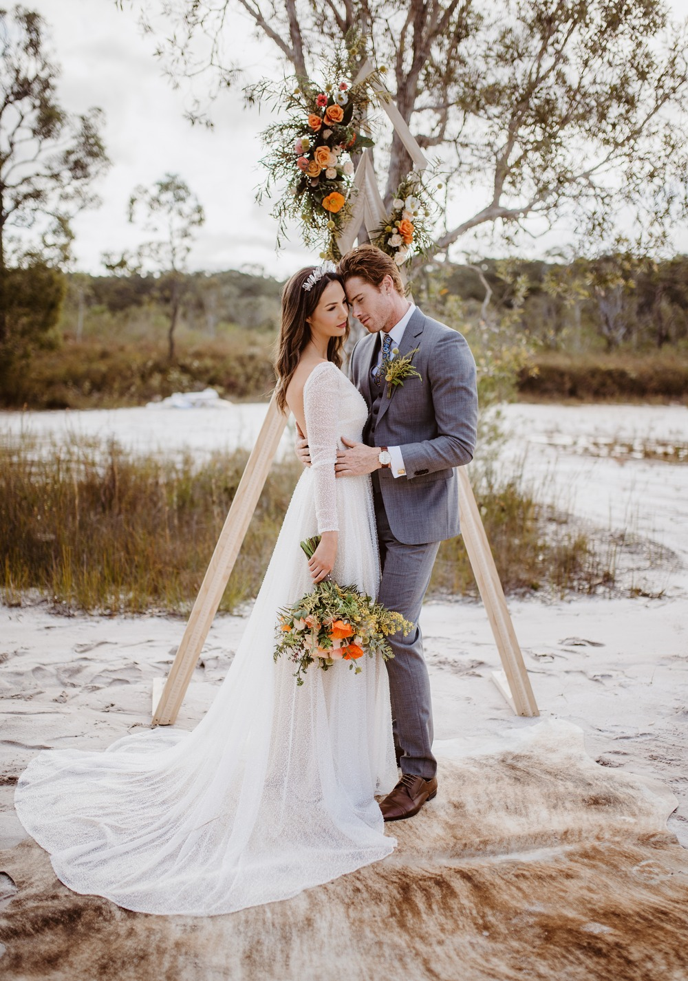 Modern boho wedding ideas