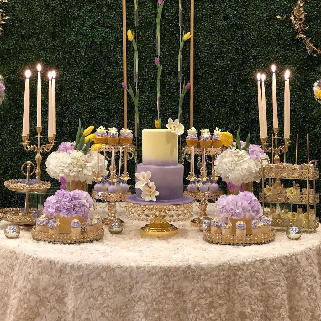 ✨STUNNING✨ Dessert Table by @anagnydilone with our ✨BLING