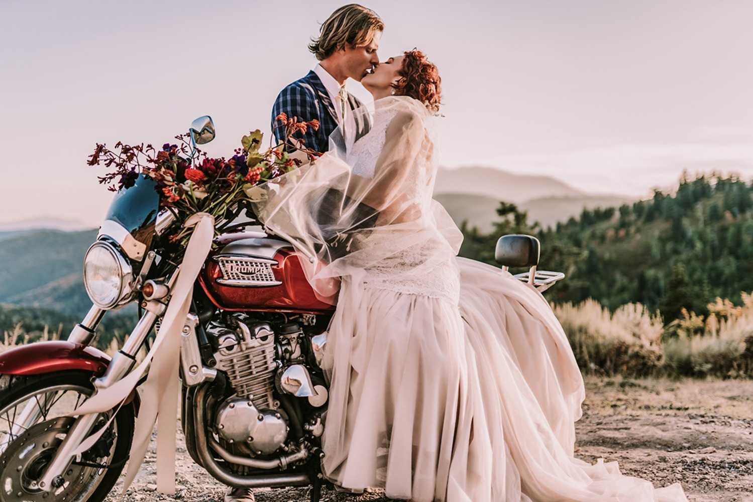 sexy after-wedding shoot