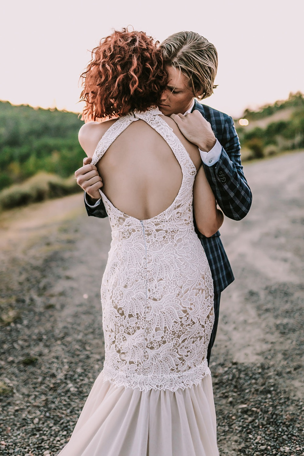 Betsy Couture Vintage Wedding Gown
