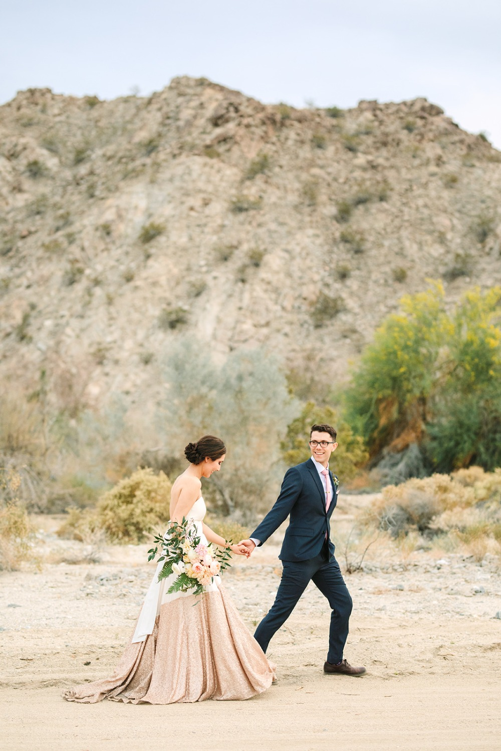 Palm Springs zoo wedding