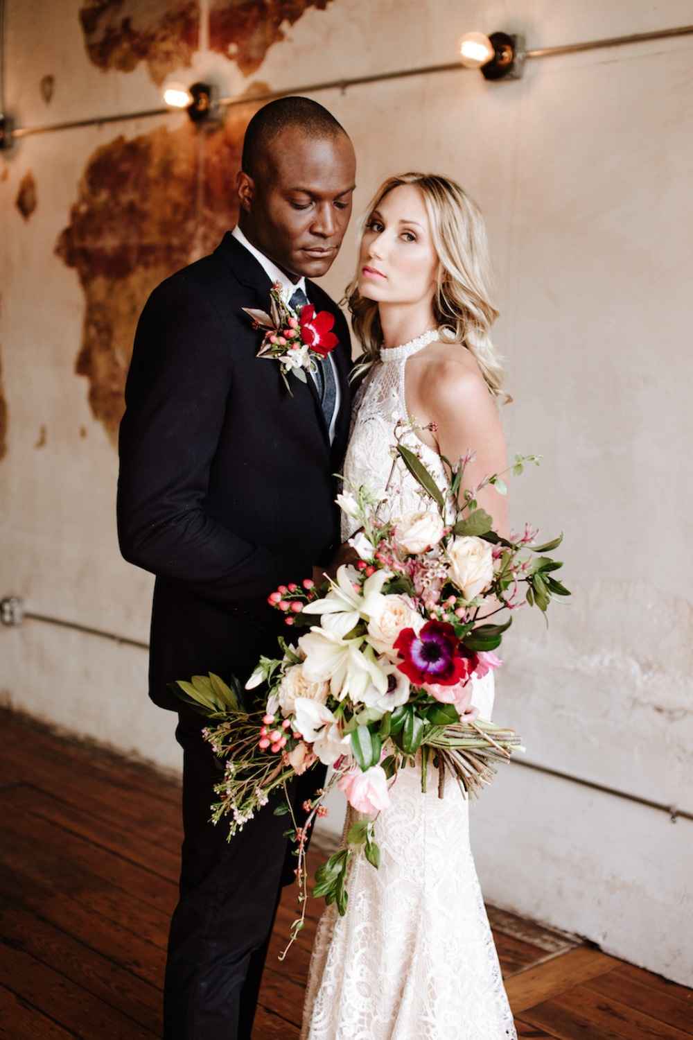 Industrial rustic wedding inspiration