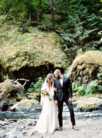 Romantic Waterfall Elopement Ideas